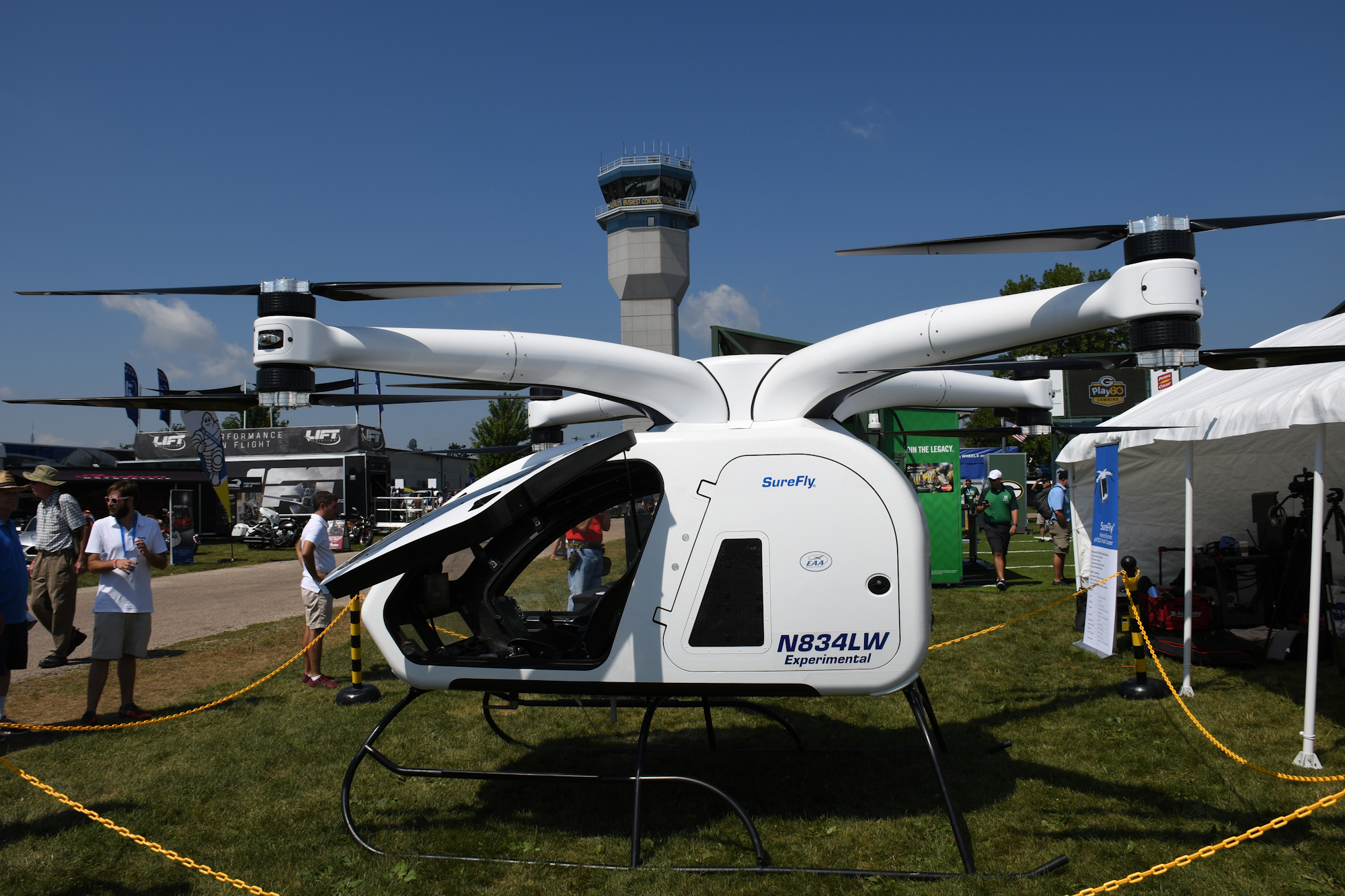 Workhorse Surefly on display at Oshkosh 2018 - Vertical Flight Photo