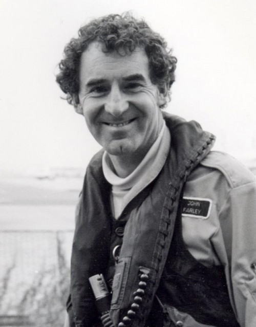 John Farley was an experimental test pilot heavily involved in the development of the Hawker Siddeley P.1127 and British Aerospace (BAE Systems) Harrier.