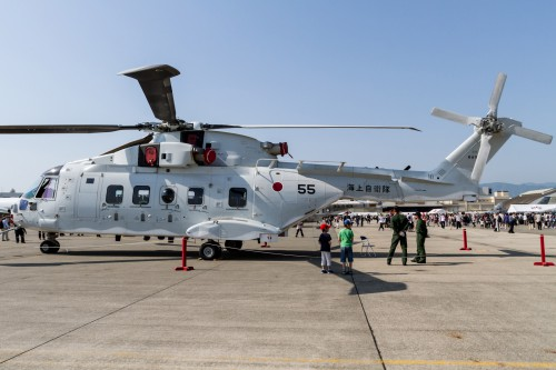 JMSDF MCH-101 - Photo from Flickr by Ken H (image reduced in size from original) (CC BY-SA 2.0) Source: https://www.flickr.com/photos/fireballsg72/7006059288/