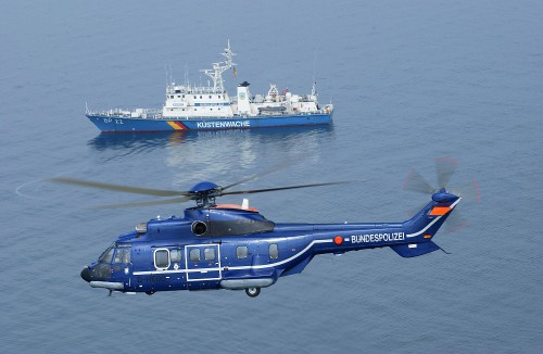 German Federal Police to receive three Airbus 215 Multi-role helicopters.  Overview of aircraft.