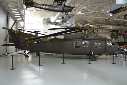 Sikorsky YUH-60A second prototype (73-21651), one of three produced for test and evaluation. U.S. Army Aviation Museum, Fort Rucker, Alabama, USA. Photo by Alan Wilson, April 17, 2013.