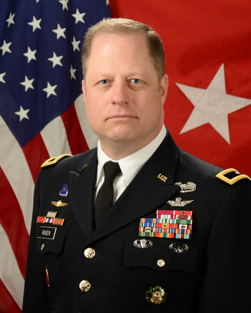 Brigadier General Walter Rugen, Director, US Army Future Vertical Lift Cross-Functional Team  Leadership Profile: Vertiflite November/December 2018