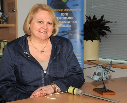 Blanche Demaret, Delegate Director for Rotorcraft, ONERA  Leadership Profile: Vertiflite May/June 2014