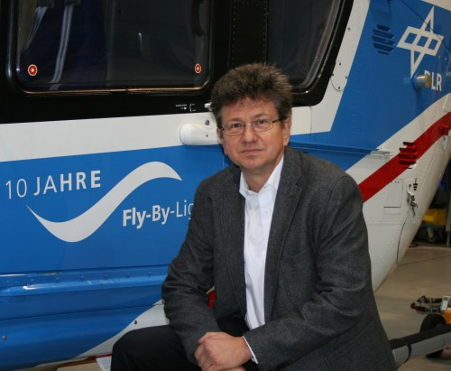 Klausdieter Pahlke, Rotorcraft Research Area Manager, German Aerospace Center (DLR)  Leadership Profile: November/December 2015