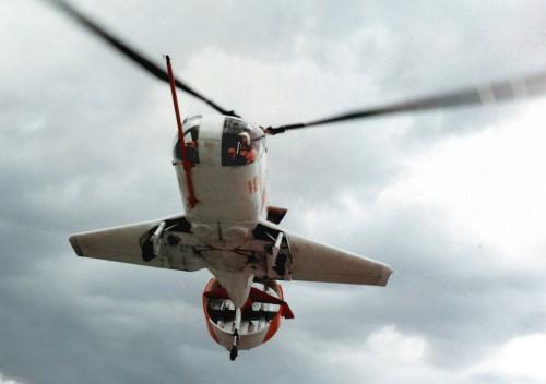 Piasecki 16H-1 Pathfinder I in flight. (Piasecki Aircraft Corp. photo)