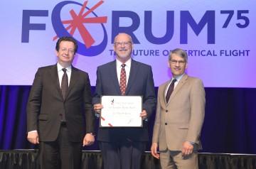 Klemin-Award_Dr.-David-A-Peters-with-R-Garavaglia--M-Hirschberg_VFS75-Awards-Banquet_20190515_DSC_3127