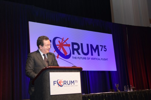 Roberto Garavaglia during the Forum 75 Grand Awards Banquet, Wednesday evening, May 15, 2019. (VFS photo by Kenneth I. Swartz. CC-BY-SA 4.0)