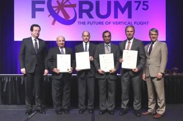 VFS-Technical-Fellows_Saberi_Potsdam_Panda_Toni-with-R-Garavaglia--M-Hirschberg_VFS75-Awards-Banquet_20190515_7P8A0652