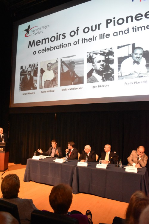 The Pioneers, Memoirs of our Pioneers reception at the Franklin Institute, Monday evening, May 13, 2019. (VFS photo by Kenneth I. Swartz. CC-BY-SA 4.0)