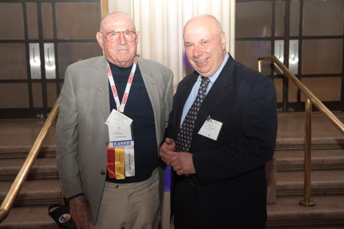Memoirs of our Pioneers reception at the Franklin Institute, Monday evening, May 13, 2019. (VFS photo by Kenneth I. Swartz. CC-BY-SA 4.0)