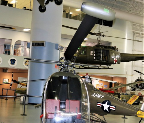 Image shows the tip jet.  Photo taken at the U.S. Army Aviation Museum, Fort Rucker, AL by Gene Munson