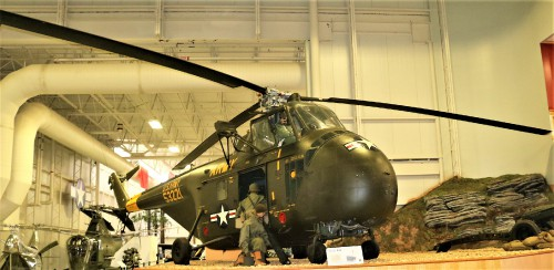 Army H-19 Korean War Vintage Helicopter at US Army Aviation Museum, Fort Rucker Alabama  Photo Courtesy: Gene Munson
