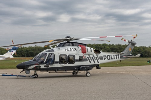 AW169 I-EASK/c.n 69096 of Norwegian Police (it will get LN-ORC code) - third and last ordered - taken at Vergiate Leonardo Company plant on 20.Sep.2019