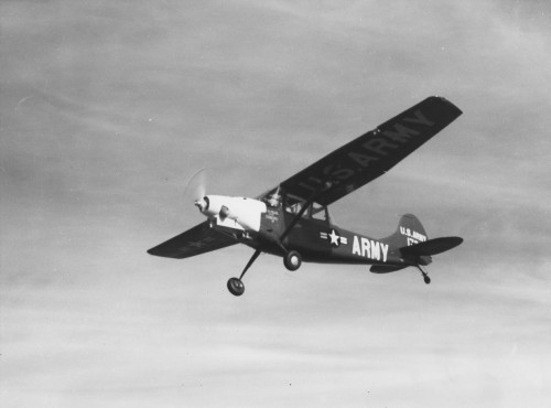 A Cessna L-19 powered by the Boeing 502-108 engine was the world's first turboprop-powered light aircraft in 1952. The Boeing 502 engine was used in 1951 to power the Kaman K-225 helicopter to be the world's first turboshaft-powered helicopter in 1951. From Vertiflite (AHS Newsletter) Nov 1960.