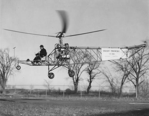 Igor Sikorsky, Sikorsky VS-300, 4 rotor (2nd configuration).
