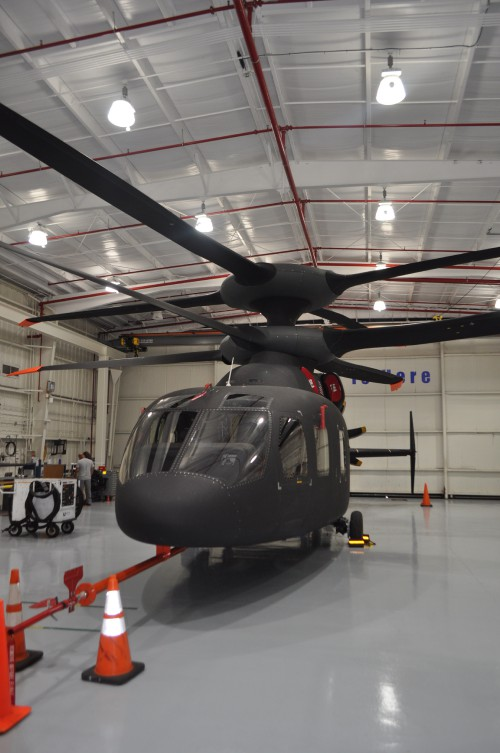 Sikorsky hosted VFS and media for interviews and walkarounds of their advanced rotorcraft at the company's Development Flight Center, West Palm Beach, Florida, on Feb. 19, 2020. (VFS photos. CC-BY-SA 4.0)