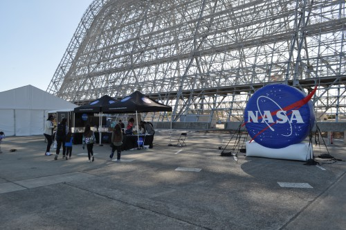 NASA STEM activities at the GoFly Prize Final Fly Off on Feb. 29, 2020 at NASA Ames Research Center, Moffett Field, California.(VFS staff photo. CC-BY-SA 4.0)