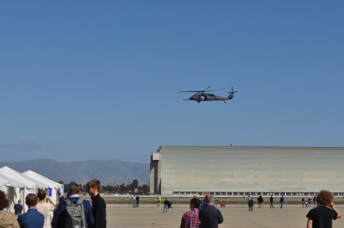 USAF Pave Hawk at the GoFly Prize Final Fly Off on Feb. 29, 2020 at NASA Ames Research Center, Moffett Field, California.(VFS staff photo. CC-BY-SA 4.0)
