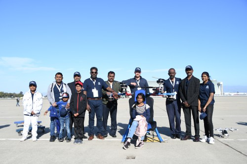 The Challengers Canada at GoFly Celebration of Flight, at Moffett Airfield, NASA Ames Research Center, California, Feb. 29, 2020. (VFS photo by Kenneth I. Swartz. CC-BY-SA 4.0)