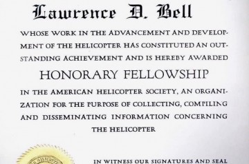 Larry-Bells-AHS-Honorary-Fellowship-certificate-May-15-1952